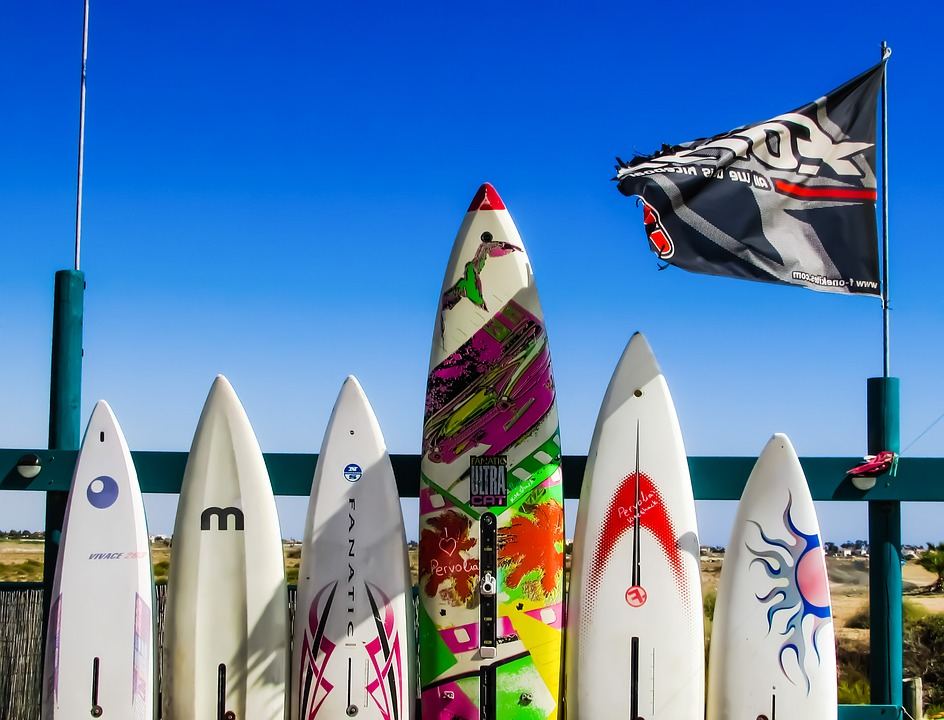 Types of Surfboard